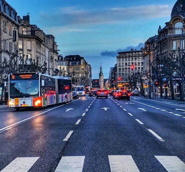 люксембург бесплатный проезд