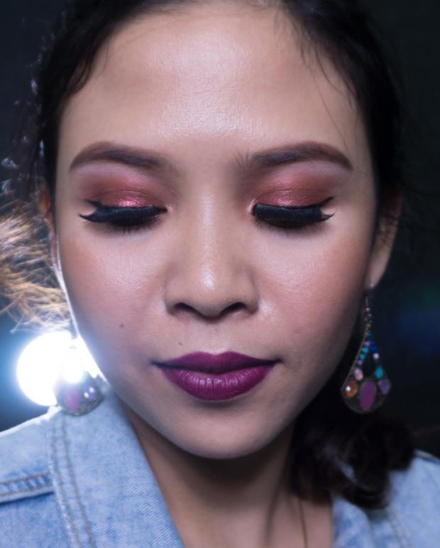 макияж на новый год 2019