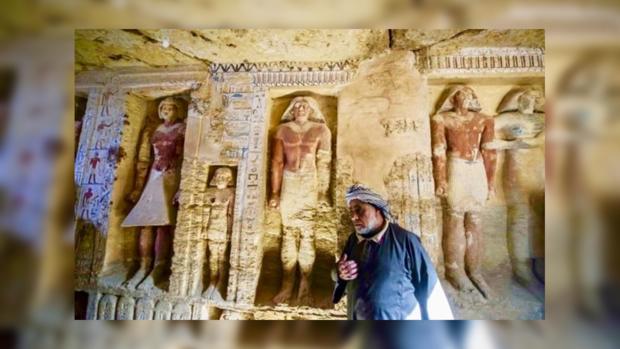 древнеегипетская нетронутая гробница