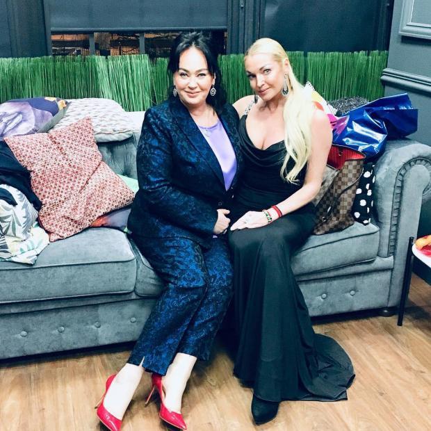 Лариса Гузеева и Анастасия Волочкова