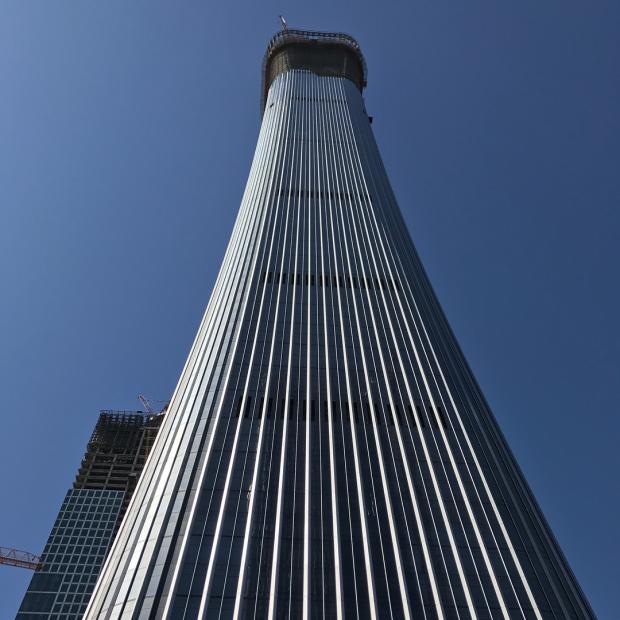 небоскребы