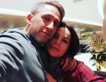 Оскар Кучера с супругой