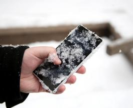 Знаете ли Вы: почему батарея смартфона быстро разряжается при низких температурах воздуха