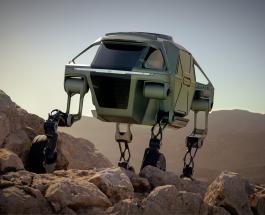 Hyundai Elevate: прототип первой в мире прогулочной машины