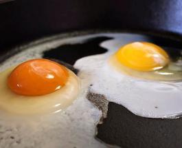Озера-яичница: фото водоема с высоты птичьего полета напомнило традиционный завтрак