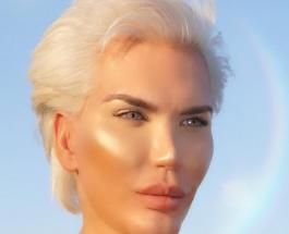 Настоящий цвет глаз Родриго Алвеса: Живой Кен поделился снимком из клиники
