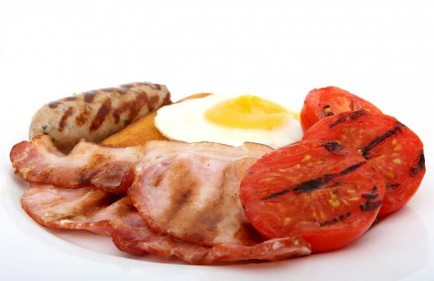сосиски завтрак