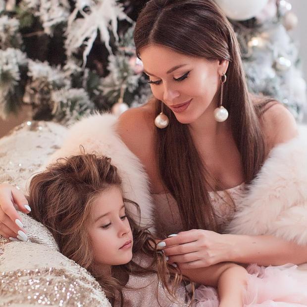 Татьяна Терешина с дочкой