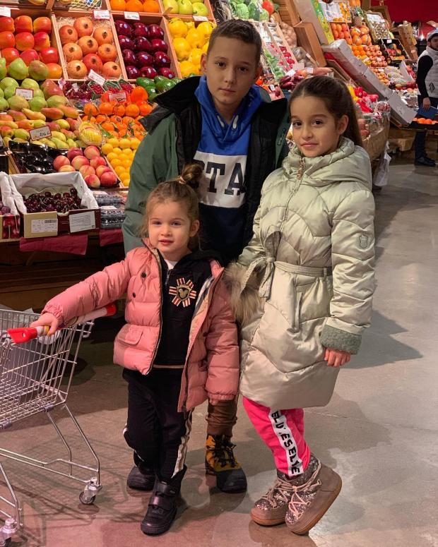 дети Бородиной и Омарова