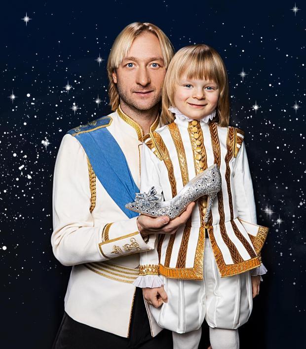 Евгений Плющенко и Гном Гномыч