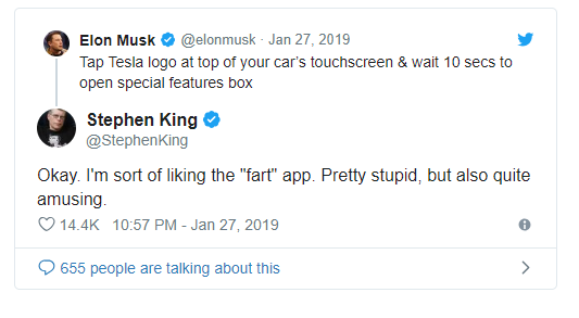 Tesla по результатам 2018 года получила убытки вобъеме USD 1 млрд
