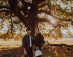 Софи Тернер с женихом