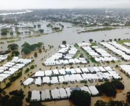 Город под водой: фото масштабных разрушений которые нанесло наводнение в Австралии