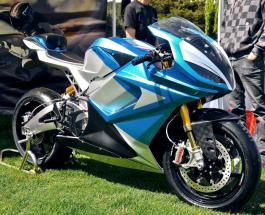 Электрический супербайк LS-218 - рекордсмен: самый быстрый мотоцикл в мире
