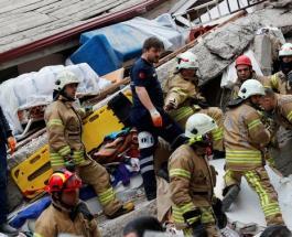 В Турции рухнул дом: первые данные о жертвах и поисковой работе