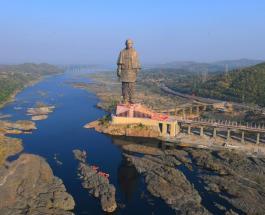 """Самая высокая статуя в мире - """"Отец нации"""" в Индии и еще 14 невероятных монументов"""