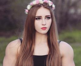 Мускулистая Барби Джулия Винс: девушка с миловидным лицом и накачанным телом