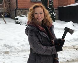 Елена Захарова в окружении ОМОНа: как актриса попала в зону защиты вооруженных ребят