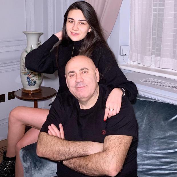 Иосиф Пригожин с дочерью Елизаветой