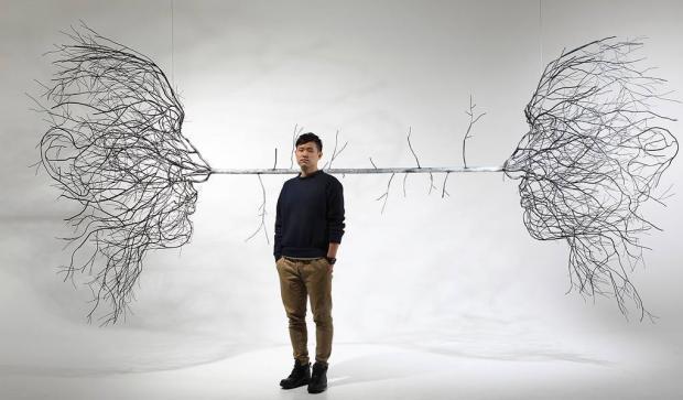 Таинственные скульптуры из веток: топ-10 работ художника которого вдохновляет природа