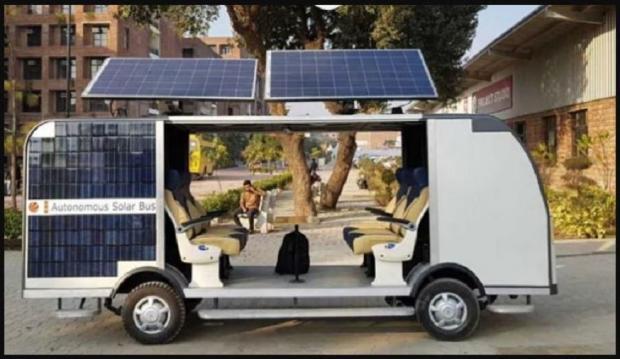 самодвижущийся автобус индия