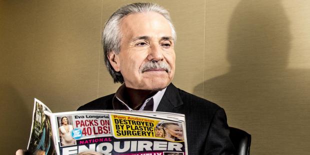 Владелец the National Enquirer Дэвид Пекер