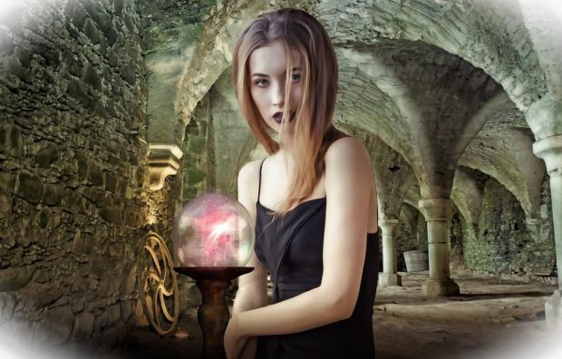 девушка и шар