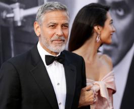Джордж и Амаль Клуни - почетные гости Принца Чарльза: супруги посетили королевский замок