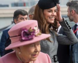 Кейт Миддлтон и Елизавета II: лучшие совместные фотографии королевы и герцогини