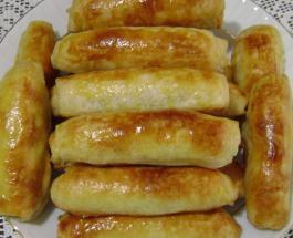 Быстрая и сытная закуска: картофельные брусочки запеченные в духовке