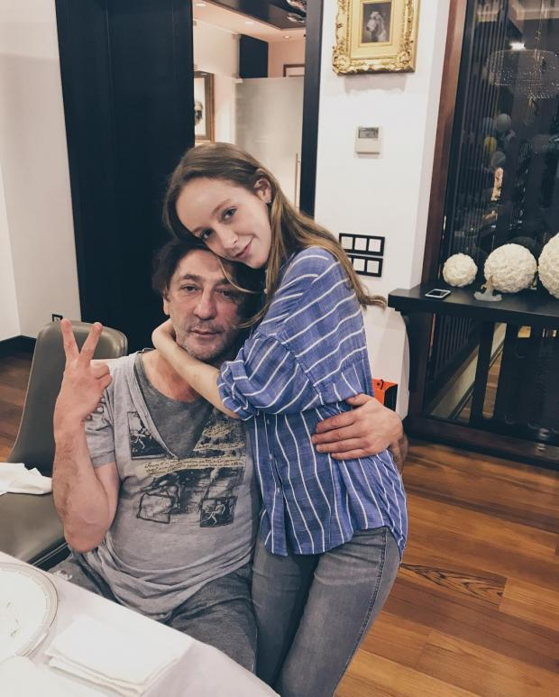 ева лепс с отцом