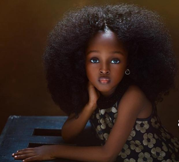 самая красивая девочка