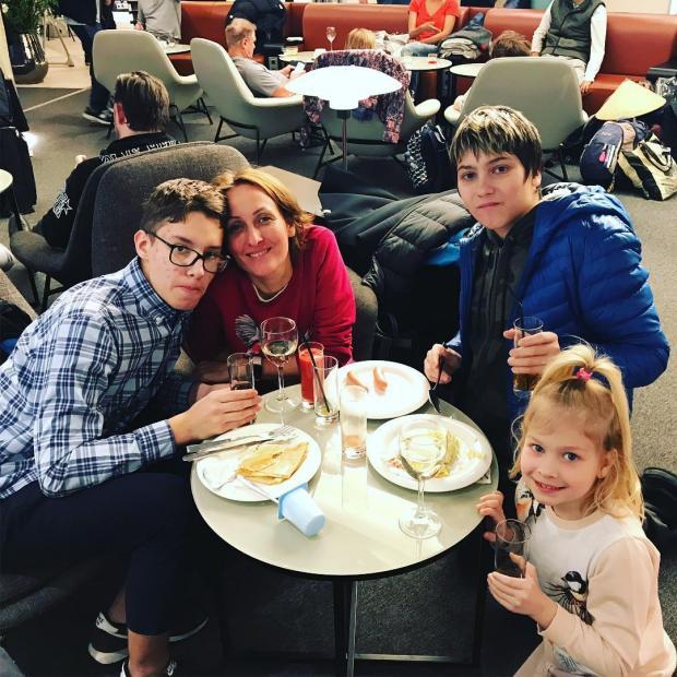 семья кортневых