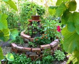 Оригинальные идеи использования кирпича для дома и сада