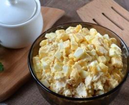 Сытный салат за 5 минут - рецепт вкусного и питательного блюда