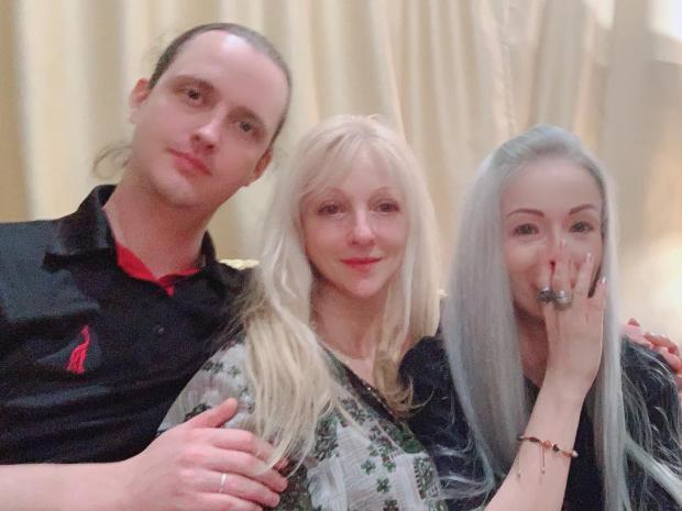 валерия лукьянова с братом и мамой