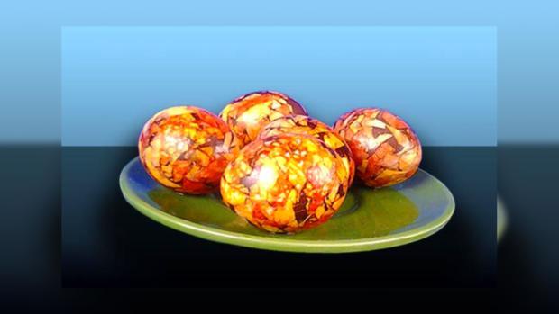 янтарные яйа