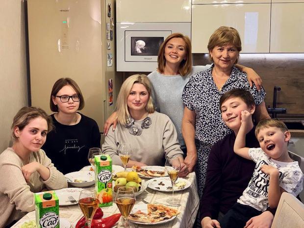 семья кузьминой