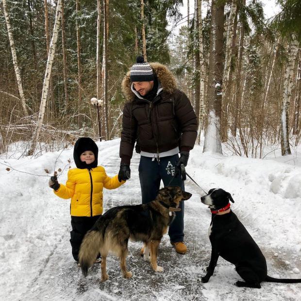 лазарев с сыном