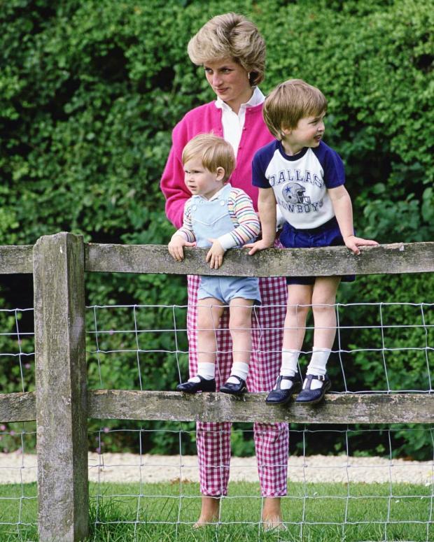 Принцесса с детьми
