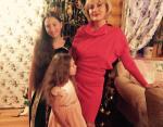 Светлана Полякова с внучками