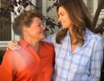 Синди Кроуфорд с мамой
