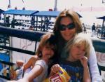 Синди Кроуфорд с детьми