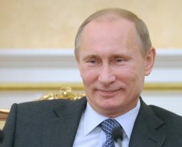 Падение президента России на льду в Сочи сняли на видео