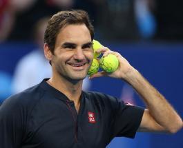 Магический трюк теннисиста Роджера Федерера с ракеткой и мячом сняли на видео