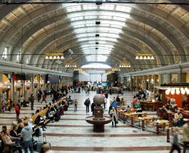 Вокзал Стокгольма поглощает тепло человеческого тела и превращает его в энергию