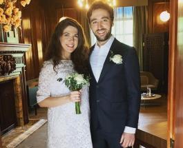 Беременная Мария Хворостовская вышла замуж: скромная свадьба в окружении родных