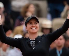 Элина Свитолина обыграла в первом матче чемпионата Франции Винус Уильямс