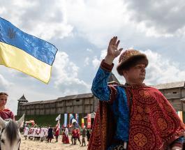 Конные лучники Украины едут в Казахстан