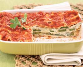 Лазанья по-новому: легкий вариант питательного и овощного блюда